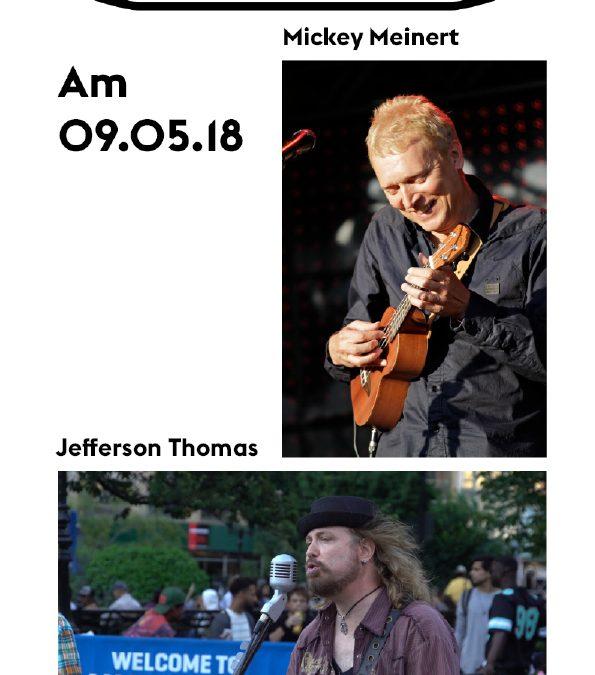 Mickey Meinert und Jefferson Thomas