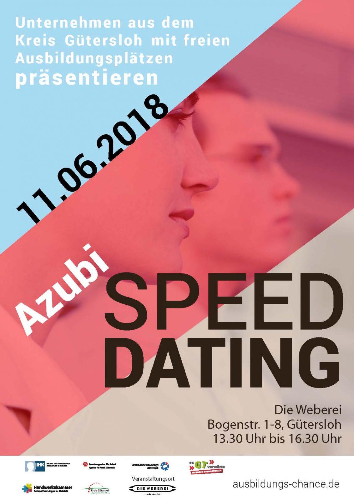 azubi speed dating karlsruhe Du kannst dich auf vielen messen mit azubis über ihre ausbildung richard- herrmann-platz 1, 60386 frankfurt am main, azubi speed dating ihk frankfurt.