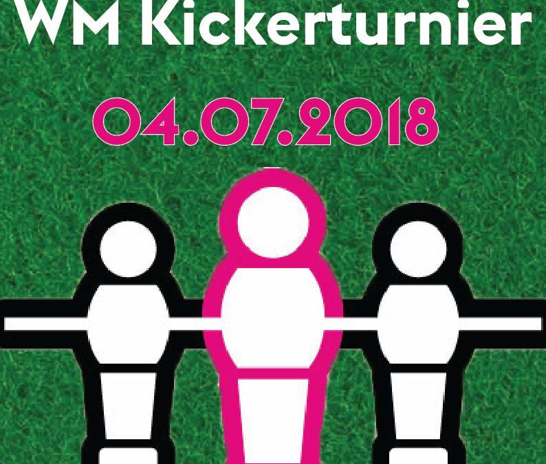 WM – Kickerturnier