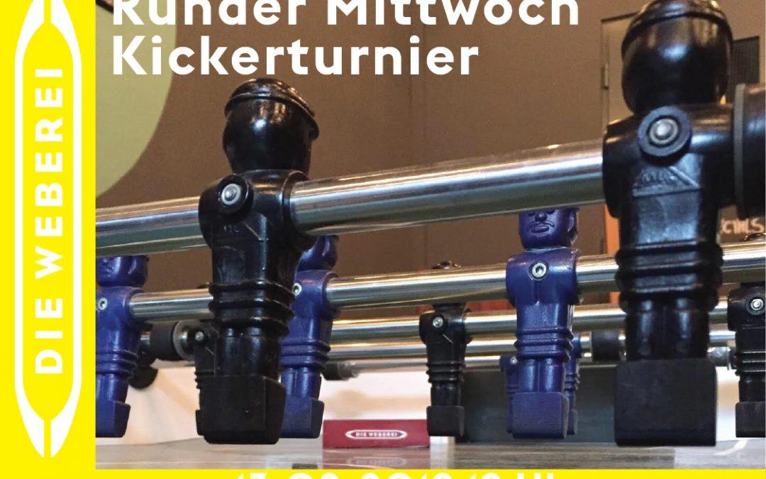 Runder Mittwoch – Kickerturnier