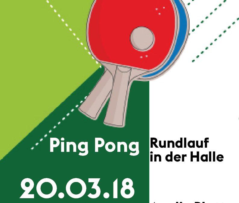 Runder Mittwoch-PingPong