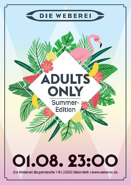 Adults Only – Summer Edition