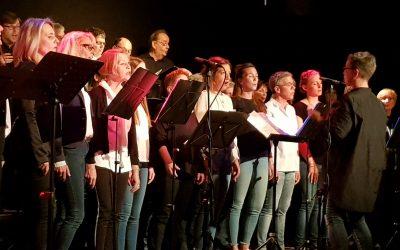 Erfolgreiche Premiere für die Konzertreihe Tag der Chöre in der Weberei