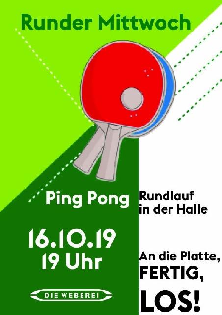 Runder Mittwoch – PingPong
