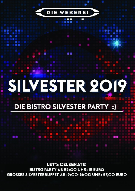 Silvester Party im Bistro