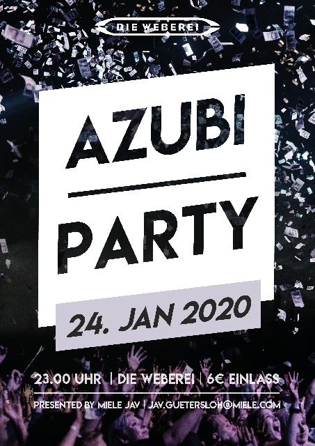 Azubi-Party