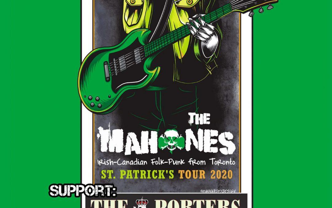 Irish-Folk-Punk mit The Mahones & The Porters (CSB)