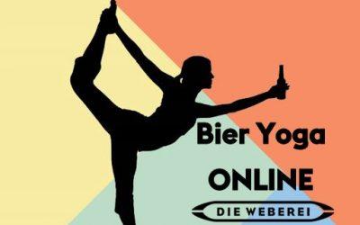 Mittwoch 18.11: Online Bier-Yoga