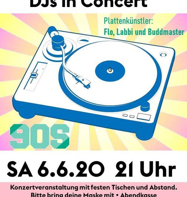 Gut aufgelegt: Djs in concert!