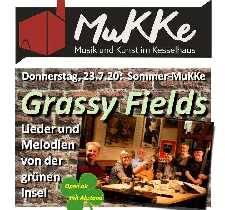 Sommer-MuKKe im Juli: Grassy Fields