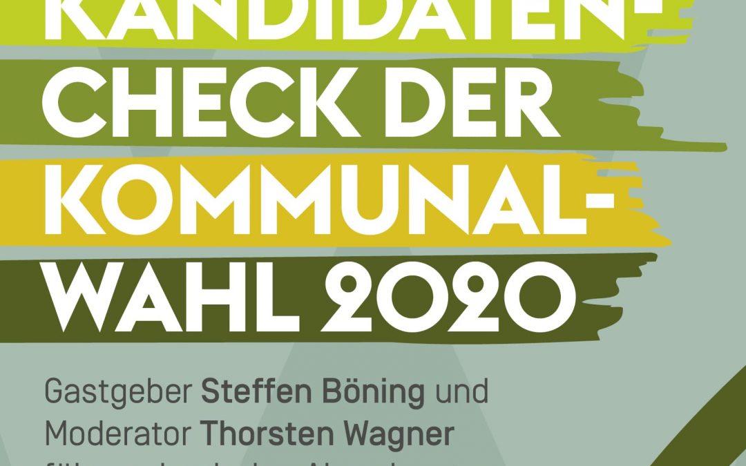 Bürgerdialog Spezial: Kandidatencheck