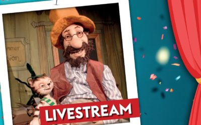 """Kindertheater """"Petterson und Findus"""" am 3.1.21 via Livestream"""