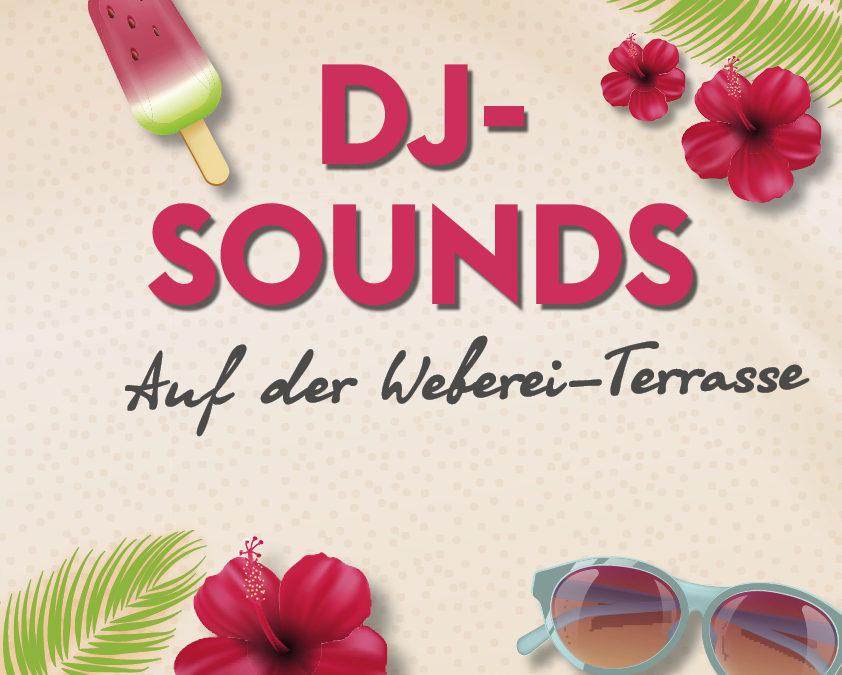 DJ Sounds auf der Terrasse